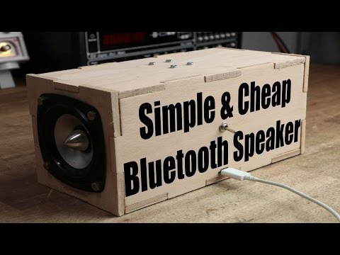 , title : 'Make your own Simple & Cheap Portable Bluetooth Speaker'