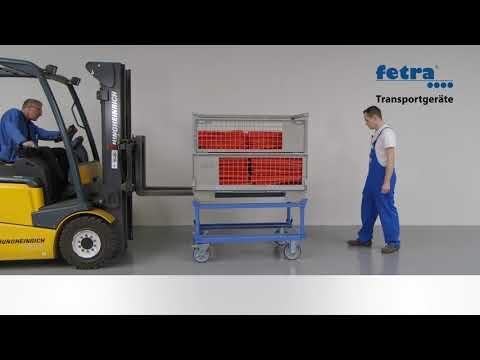 Fetra Aufsetzrahmen für Paletten-Fahrgestelle Grey Edition-youtube_img