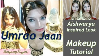 Aishwarya Inspired Makeup Look | Umrao Jaan | DIY Tutorial