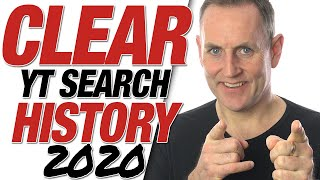 How To Delete YouTube Search History 2020