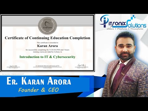 Cybersecurity Free Online Course with Certificate - Cybrary ...