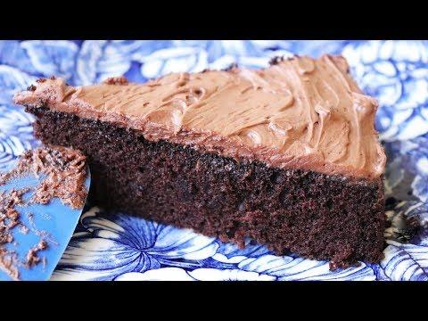 Quick & Easy Chocolate Cake - No eggs. No butter. One bowl.