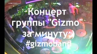 Концерт Gizmo за 1 минуту #gizmoband