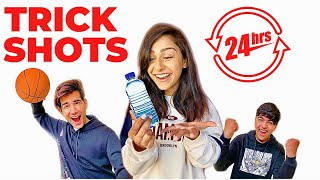 Watch REAL LIFE TRICK SHOTS for 24 Hours