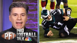How Eagles avoided disastrous loss to Giants | Pro Football Talk | NBC Sports