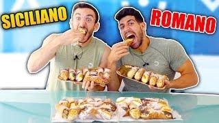 SICILIANO vs ROMANO: chi mangia più CANNOLI??