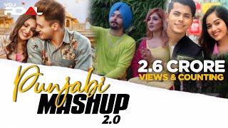 Punjabi Mashup 2   Dj Hitesh   VDj Royal   New 2021 Punjabi Love Mashup