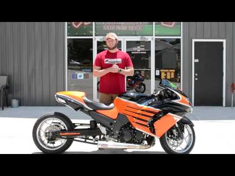 2012 Kawasaki Ninja® ZX™-14R in Lexington, North Carolina