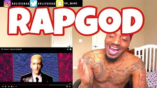 How can you even think of these barz! | Eminem - Rap God | REACTION