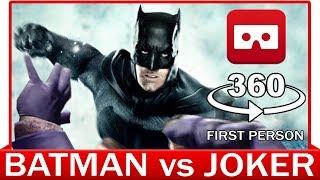 360° VR VIDEO - BATMAN vs JOKER - INTERROGATION SCENE - THE DARK KNIGHT - JUSTICE LEAGUE MOVIE