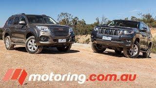 2018 Toyota LandCruiser Prado vs Haval H9 | motoring.com.au