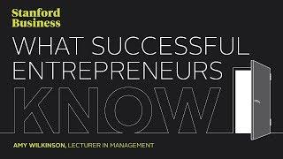 Les 6  compétences des entrepreneurs inspirants