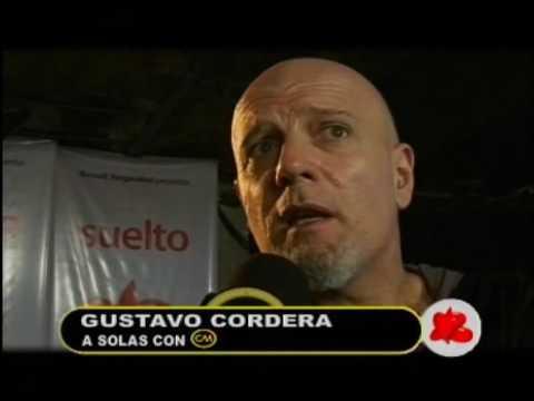 Gustavo Cordera video Presentación oficial Cordera Suelto - Entrevista Argentina 2009