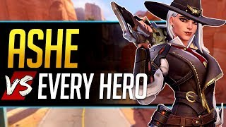Overwatch Ashe vs Every Hero - All Counters, Strengths, & Weaknesses