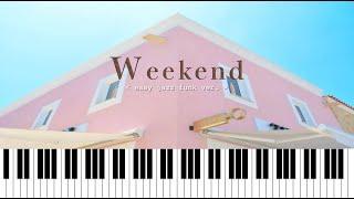 태연-Weekend 재즈펑크피아노로 연주하기