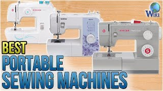 10 Best Portable Sewing Machines 2018