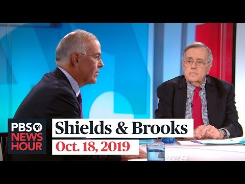 Shields and Brooks on Trump's Syria 'blunder,' impeachment outlook