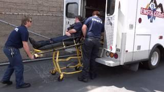 EMT Students - Ambulance Transport Skills Practice