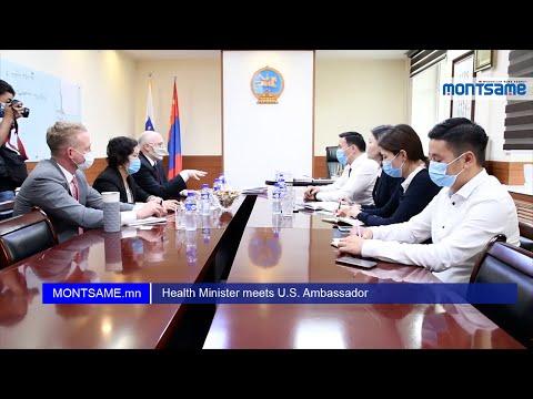 Health Minister meets U.S. Ambassador