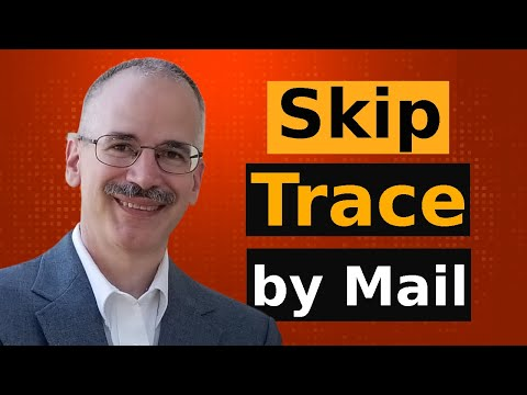 Skip Tracing by US Mail. Training for process servers, private ...
