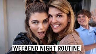 VLOG 8 l Weekend Night Routine l Olivia Jade