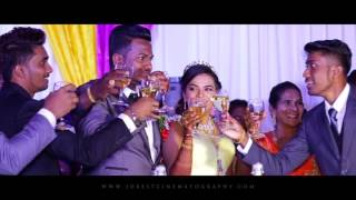 Uthaya + Kavitha - Cinematic Reception Highlight by Jobest