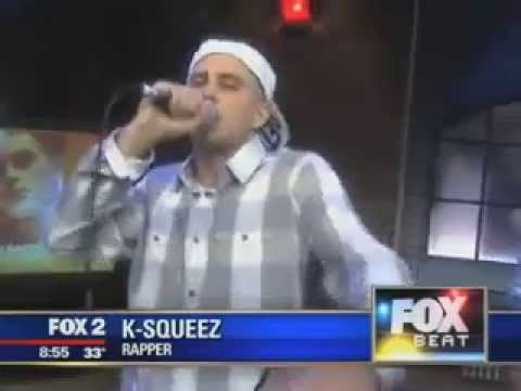 K-Squeez - I Just Wanna - Live On Fox 2 News