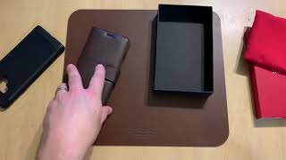Noreve Leather Wallet Case for Samsung Galaxy Note 9