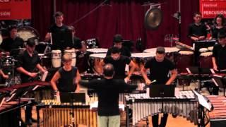 PIAZZOLLA.- Libertango.- Ensemble Alumnado PercuFest 2015 dirigido por Aarón Cristófol