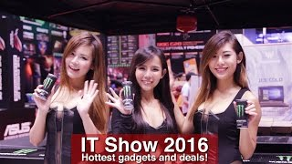 IT Show 2016: Hottest gadgets and deals!