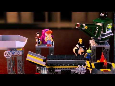 Vidéo LEGO Toy Story 7596 : L'usine de destruction des jouets