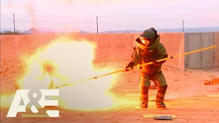 Criss Angel Mindfreak: Walk Through Exploding Minefield (Season 5) | A&E