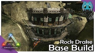 Rock Drake Base Build :: ARK: Building W/ Fizz (No MODS)