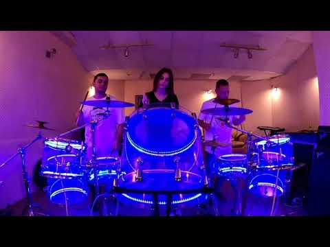 """Барабанное шоу """"Kiev drum show"""", відео 3"""