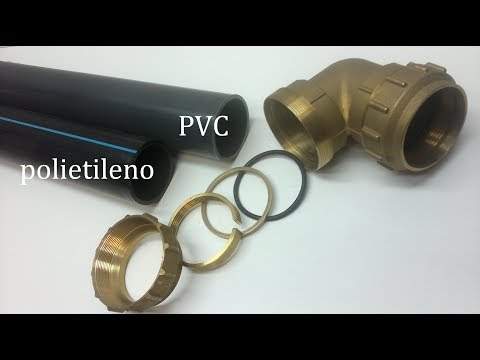 Como reparar tubería de PVC presión con agua