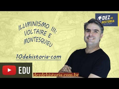 Iluminismo III: Montesquieu e Voltaire. poderes, liberdade de expressão.
