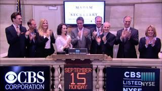 "Stars of CBS Drama Series ""Madam Secretary"" Ring NYSE Closing Bell"