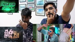 Khaidi No 150 Official Theatrical Trailer Reaction In HIndi & Marathi  The SNAP Boys Fun