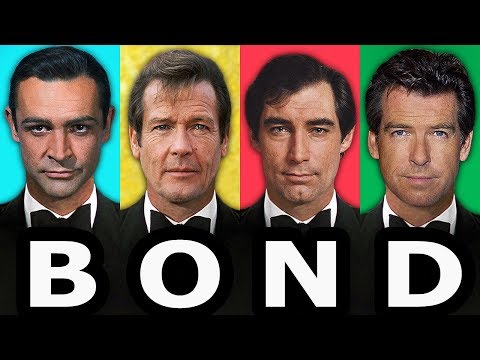 JAMES BOND Actors ⭐ Then and Now 1962 -  2019 | Name and Age