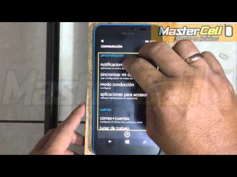 Desactivar TALCKBACK de cualquier windows phone - Mi celular habla cuando digito