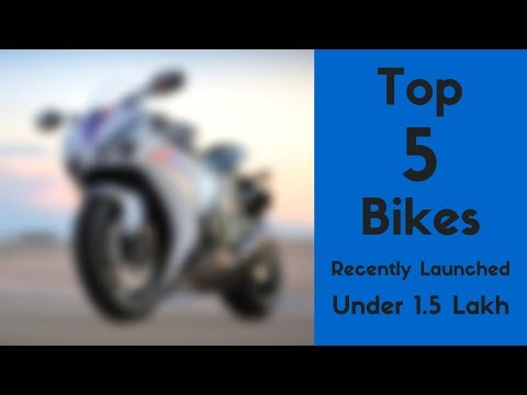 Top 5 Bikes under Rs 1.5 Lakh launched in India