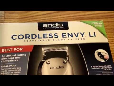 Barber Tool Clipper Review: Andis Cordless Envy Li