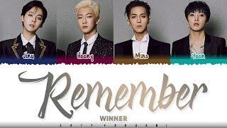 WINNER – 'REMEMBER' Lyrics [Color   - YouTube