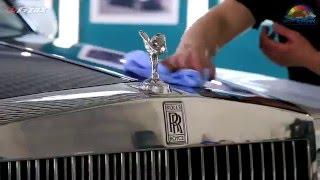"""""""Жидкое стекло"""" Gzox, покрытие Hi-Mohs на автомобиле Rolls Royce в АвтоТОТЕММ"""