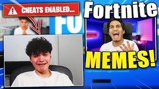 Reacting to the FUNNIEST #FreeJarvis Fortnite Memes!
