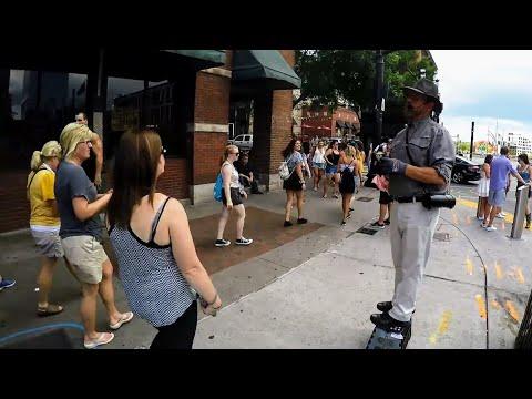 Street Ministry on the corner of 'Love & Tolerance' | Lower Broad | Nashville TN | 7-20-19 (Part #3)