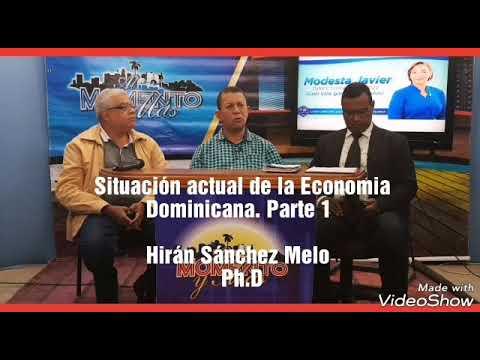 Situación actual de la Economía Dominicana. Parte 1