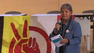 Jean White Horse speaks at the 2009 AIM Fall Conference (pt 2 of 3)