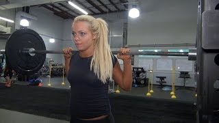 Liv Morgan and Aliyah aim to perfect the single-leg squat
