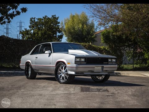 "@81King_Bu's 1981 Chevrolet Malibu on 22"" Forgiato Drea Wheels : #CaliLove"